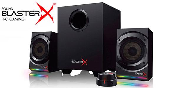 Chollo Altavoces 2.1 Creative Sound BlasterX Kratos S5