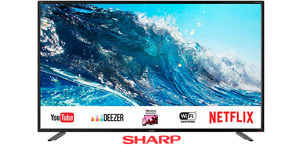 Chollo Smart TV Sharp LC-UI7252E UHD 4K