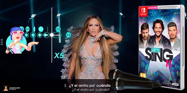 Chollo Videojuego Let'S Sing 11 con 2 micrófonos para Switch