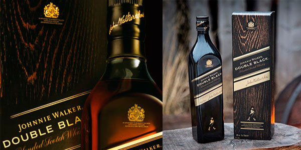 Chollo Whisky Johnnie Walker Double Black de 700 ml