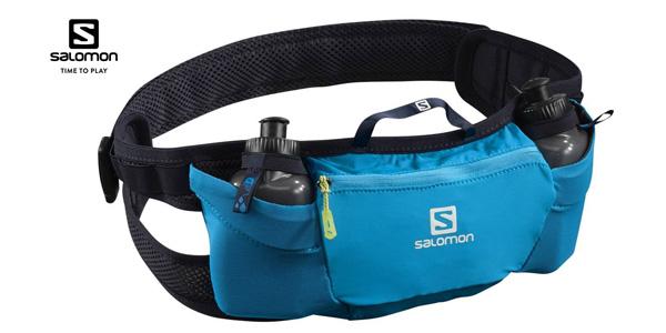 Cinturón de running Salomon Energy Belt con 2 botellas de 200 ml barato en Amazon