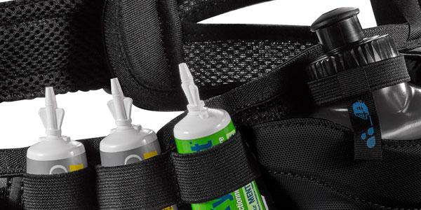 Cinturón de running Salomon Energy Belt con 2 botellas de 200 ml chollo en Amazon