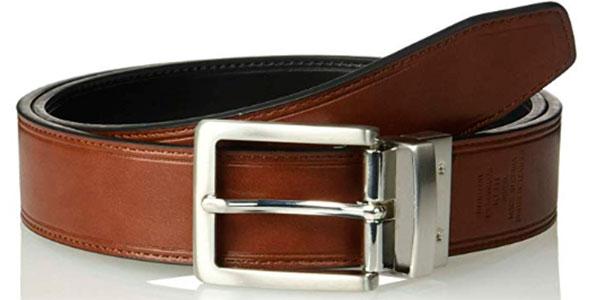 Cinturón reversible Amazon Essentials con hebilla giratoria barato