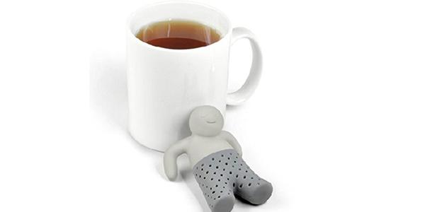 """Colador de té Miryo diseño de """"Señor Té"""" barato en Amazon"""