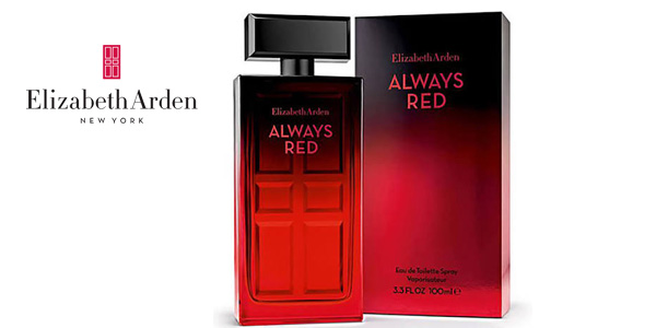 Eau de toilette Elizabeth Arden Always Red femme vaporizador 100 ml barato en Amazon