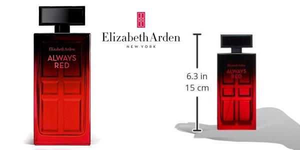 Eau de toilette Elizabeth Arden Always Red femme vaporizador 100 ml chollo en Amazon