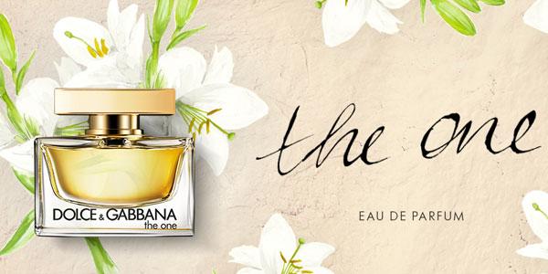 Eau de parfum DOLCE & GABBANA THE ONE vaporizador 75 ml chollo en Amazon