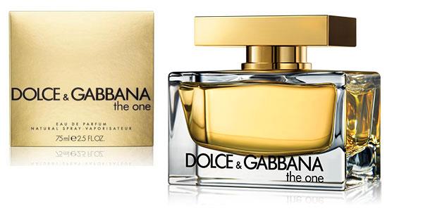 Eau de parfum DOLCE & GABBANA THE ONE vaporizador 75 ml barato en Amazon