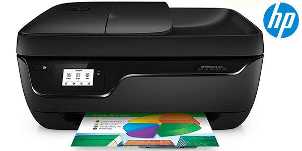 Impresora multifunción HP OfficeJet 3831 con Wi-Fi barata