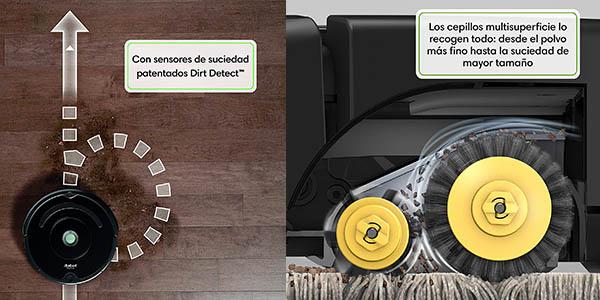 iRobot Roomba aspirador con sensores inteligentes oferta
