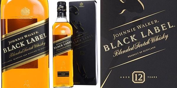 Whisky Johnnie Walker Black Label al mejor precio