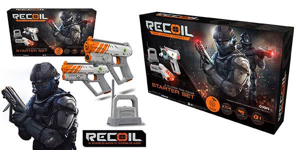 juego de pistolas láser Recoil Pack Starter chollo