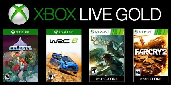 Juegos GRATIS con Gold enero de 2019 para Xbox