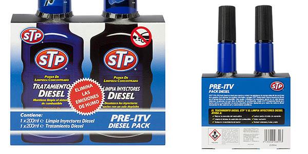kit Pre-ITV limpia inyectores tratamiento Diesel para coches chollo