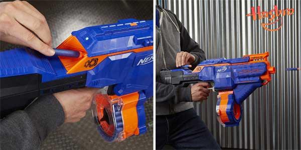 Lanzador motorizado de dardos Nerf N-Strike Elite Infinus de Hasbro E0438EU4 chollo en Amazon
