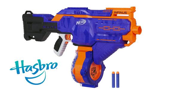 Lanzador motorizado de dardos Nerf N-Strike Elite Infinus de Hasbro E0438EU4 barato en Amazon