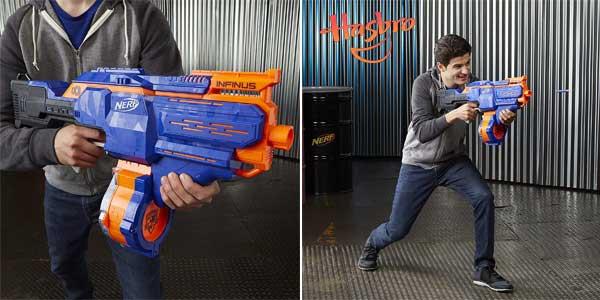 Lanzador motorizado de dardos Nerf N-Strike Elite Infinus de Hasbro E0438EU4 chollazo en Amazon
