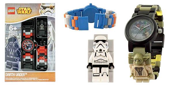 LEGO Star Wars relojes de pulsera ajustables correa chollos