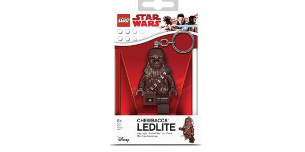 Llavero Linterna Lego Star Wars Chewbacca barato en Amazon