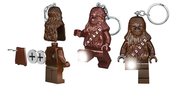 Llavero Linterna Lego Star Wars Chewbacca chollo en Amazon