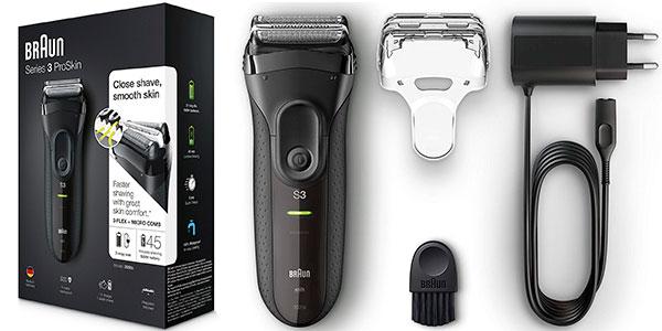 Maquinilla de afeitar eléctrica Braun Series 3 ProSkin 3020s inalámbrica y recargable para hombre barata