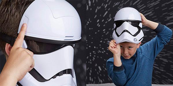 Máscara electrónica de StormTrooper de la Primera Orden de Star Wars con distorsión de voz barata