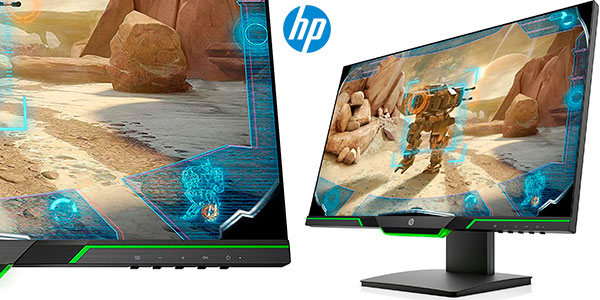 Monitor gaming HP 25x Full HD de 24,5'' barato