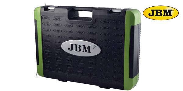 Pack de 216 Piezas JBM 52840 con vasos hexagonales en estuche chollo en Amazon