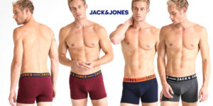 Pack 3 Bóxer JACK & JONES multicolor para hombre baratos en Amazon