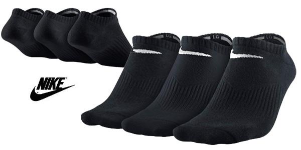 Pack 3x Calcetines de deporte Nike Lightweight No-Show barato en Amazon