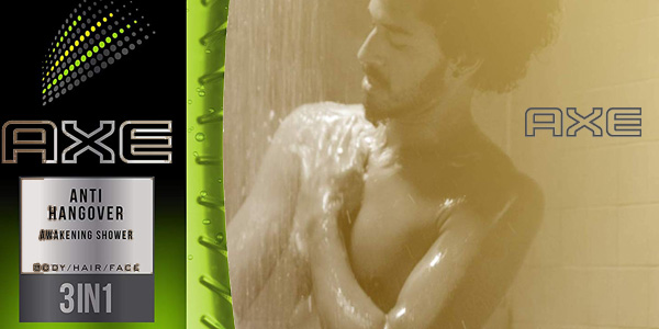 Pack 6 botes Gel de ducha Axe Gel Anti Hangover Awekening Shower 250 ml/ud chollo en Amazon