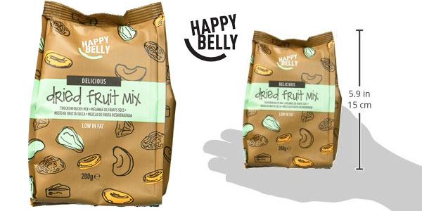 Mezcla de frutas deshidratada Happy Belly Marca Amazon, 7 x 200gr chollo en Amazon