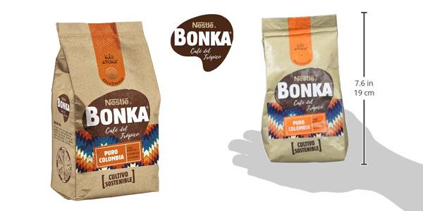 Pack x8 Bonka Café molido de tueste natural Puro Colombia y cultivo sostenible chollo en Amazon