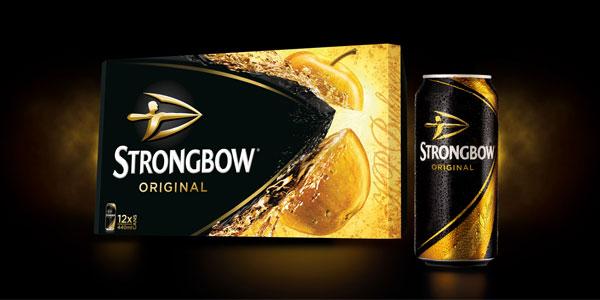 Pack 15 Latas Sidra Strongbow 440 ml chollo en Amazon