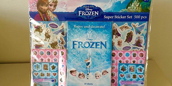 pegatinas Frozen precio genial