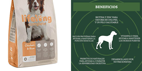 pienso para perros adultos Amazon Solimo chollo