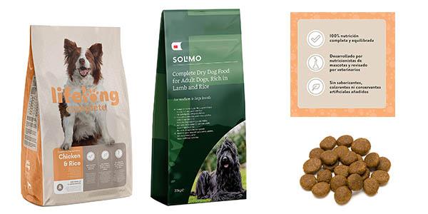piensos para perro marca Amazon baratos