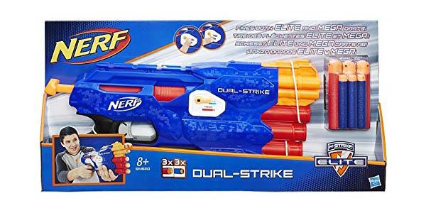 pistola Nerf Elite Dual Strike oferta