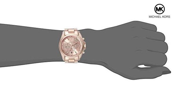 Reloj analógico de cuarzo Michael Kors MK5503 Bradshaw para mujer chollazo en Amazon