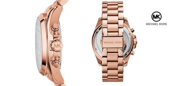 Reloj analógico de cuarzo Michael Kors MK5503 Bradshaw para mujer chollo en Amazon