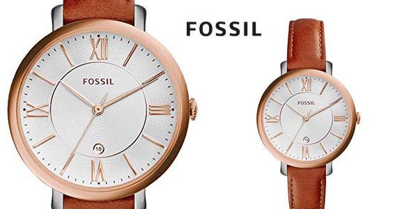 Reloj analógico Fossil Jacqueline ES3842 para mujer barato en Amazon