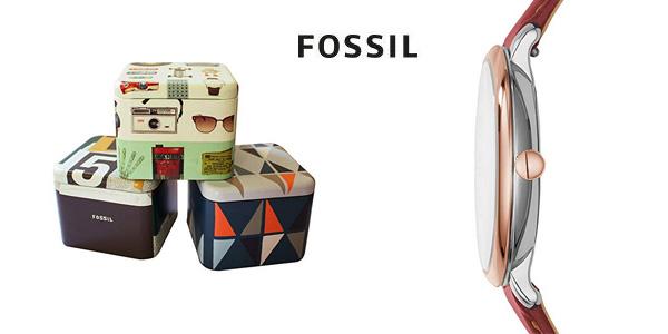 Reloj analógico Fossil Jacqueline ES3842 para mujer chollazo en Amazon