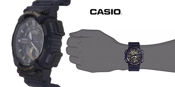 Reloj analógico digital Casio Collection AEQ-110W-2AVEF azul para hombre chollo en Amazon