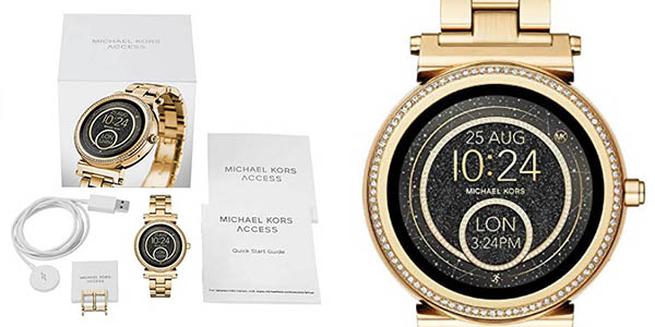 reloj de pulsera Michael Kors dorado para mujer oferta