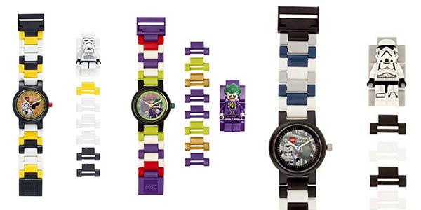 relojes LEGO colección superhéroes DC Comics y Star Wars ofertas Amazon