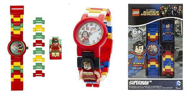 relojes LEGO personajes DC Comics en oferta