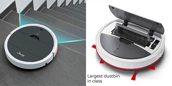 robot aspirador inteligente Vileda VR102 relación calidad-precio estupenda