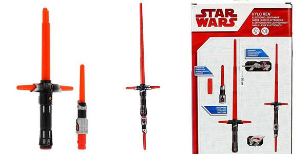 sable electrónico Star Wars Kylo Ren original oferta