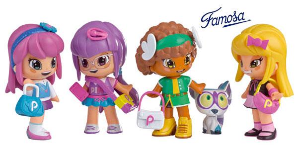 Set de Cuatro muñecas Pinypon by PINY (Famosa 700012916) chollo en Amazon