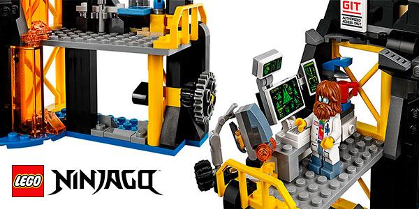 Set Guarida volcánica de Garmadon de LEGO Ninjago con 5 minifiguras barato